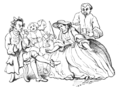 English Caricaturists, 1893 - Marriage a la Mode.png