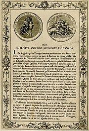 English flotilla repelled in Canada