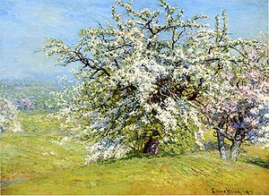 John Joseph Enneking - Blooming Meadows