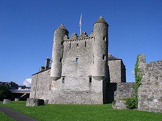 Enniskillen town and civil parish in County Fermanagh, Northern Ireland