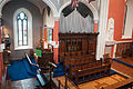 Enniskillen Cathedral of St. Macartin Choir Stalls as seen from the Gallery 2012 09 17.jpg