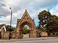 Entrance Archway, Jesmond (All Saints) Cemetery, Jesmond, Newcastle upon Tyne.jpg