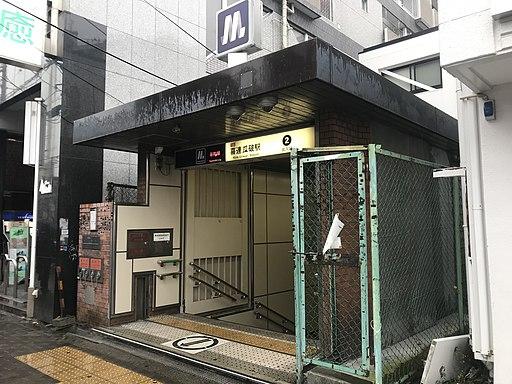 Entrance No.2 of Kire-Uriwari Station