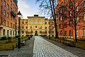 Entrance to Norra Latin school Stockholm Sweden.jpg
