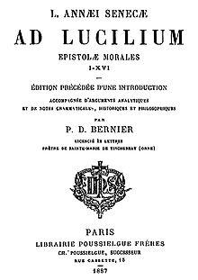 Lettres à Lucilius — Wikipédia
