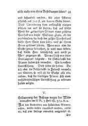 Erläuterung der Anfrage wegen der Wittwencassen, S. 95-97