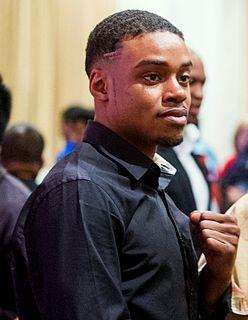 Errol Spence Jr. American boxer