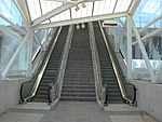 Escalators at North Temple station, Aug 15.jpg