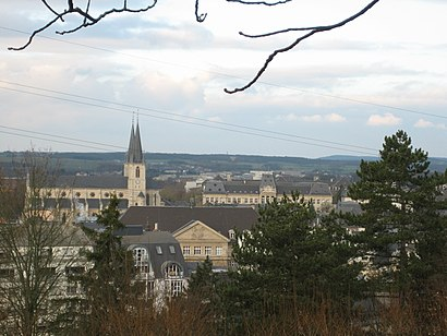 How to get to Esch-Sur-Alzette with public transit - About the place