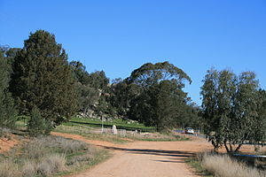 Frank Gardiner - Location of the robbery at Eugowra Rocks
