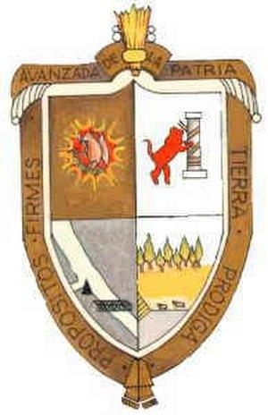 Acuña Municipality - Image: Escudo Acuña Coahuila
