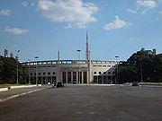 Estádio do Pacaembu.