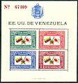 Estampillas de Venezuela hoja de recuerdo Cruz Roja 1944 000.jpg