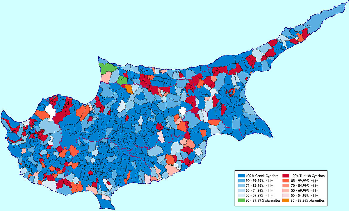 Demographics of Cyprus - Wikipedia
