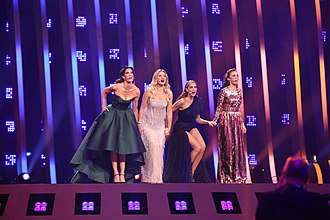 Portugal in the Eurovision Song Contest - Hosts of Eurovision Song Contest 2018: Catarina Furtado, Daniela Ruah, Filomena Cautela and Sílvia Alberto