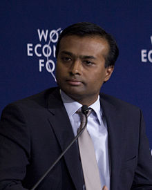 Euvin Naidoo - World Economic Forum on Africa 2012 crop.jpg