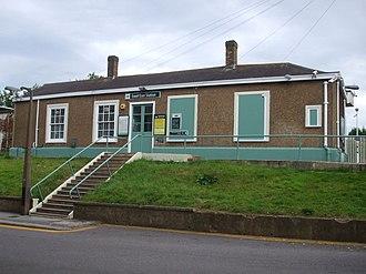 Ewell East railway station - Station building