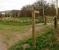 Exmoor , Wimbleball Signpost - geograph.org.uk - 1257779.jpg