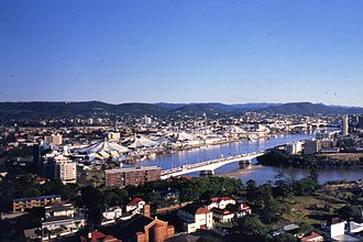 World Expo 88 - Expo site in South Brisbane