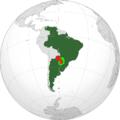 Extensión del idioma guaraní en el Cono Sur.png