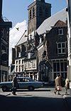 exterieur overzicht vanaf de langestraat, zuidgevel - amersfoort - 20260134 - rce