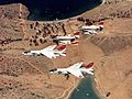 F-8 Crusaders and A-4C Skyhawks of VC-7 in flight in 1969.jpg