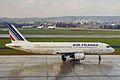 F-GFKM 2 A320-211 Air France ZRH 20MAR99 (5854464888).jpg