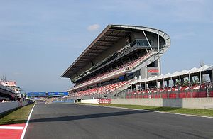 Circuit de Barcelona-Catalunya - The start line