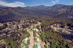 Los Alamos, New Mexico - Aftermath of the Cerro Grande Fire of 2000