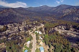 Los Alamos, New Mexico - Aftermath of the Cerro Grande Fire of 2000