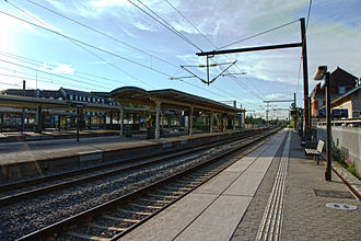 Hellerup Station - Platform level