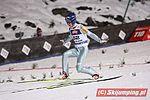 FIS Ski Jumping World Cup Zakopane 2008 - Kamil Stoch sunday competiton landing 4.jpg