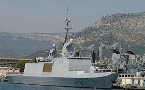 French frigate Guépratte - Image: FS Guepratte 2