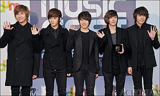F.T. Island South Korean pop/rock band