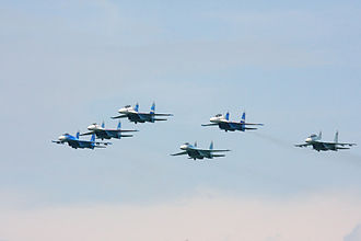 Lipetsk (air base) - Falcons of Russia aerobatic team from Lipetsk Air Base