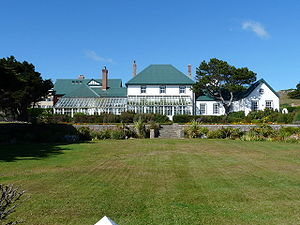 Listed buildings in the Falkland Islands - Image: Falkland Islands Governor's House