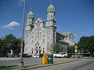 Napoléon Bourassa - St. Anne Shrine Church, Fall River Massachusetts: Napoléon Bourassa, architect (with Louis G. Destremps)