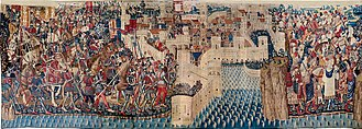 History of Portugal (1415–1578) - Conquest of Tangier in 1471, from the Pastrana series of tapestries