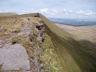 Fan Hir - Fan Hir summit ridge