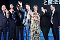 Fantastic Beasts and Where to Find Them Japan Premiere Red Carpet- Eddie Redmayne, Dan Fogler, Katherine Waterston, Alison Sudol, David Yates, David Heyman & DAIGO (35493753962).jpg