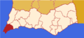 Faro district map Portugal VBP.png