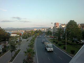 Fatsa Town in Black Sea, Turkey