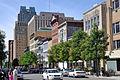 Фейетвилл-стрит в центре города Роли, Северная Каролина. Jpg