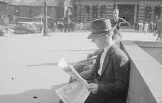 Phillips Square - Phillips Square in 1943.