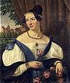 Ferdinand Hauptner Portrait einer jungen Dame 1834.jpg