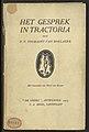 Fernand Victor Toussaint van Boelaere - Het gesprek in tractoria, met houtsneden van Henri van Straten - Royal Library of Belgium - III 66.981 A (p. 0001).jpg
