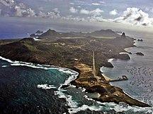 Ilha de Fernando de Noronha-Discovery-Fernando de Noronha - vista aera