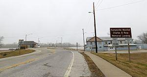 Kampsville, Illinois - Ferry landing in Kampsville