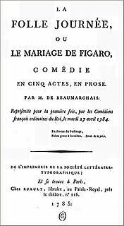 <i>The Marriage of Figaro</i> (play)