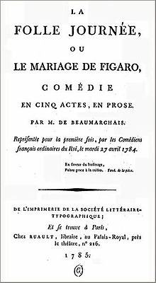 The marriage of figaro play wikivisually the marriage of figaro play fandeluxe Image collections